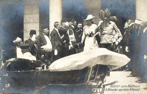 31 mars 1905 assassination of Archduke Franz Ferdinand in