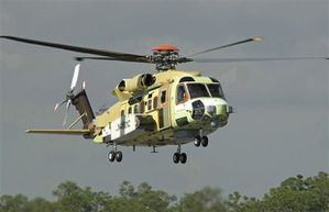 Cyclone helicopter – photo Sikorsky