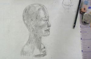 Atelier Croquis Portrait Base Flo Megardon 18
