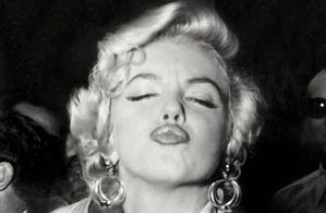 marilyn monroe bisou