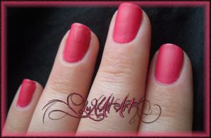 passion pink mat ombre