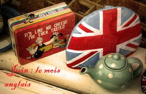 mois anglais tea time