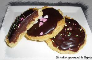 Tartelette choco-daim (Magali)