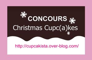 Concours Christmas Cupcakes