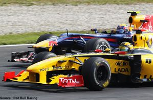 Red Bull - Robert Kubica, Mark Webber