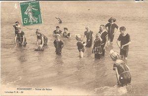 cpp 1178 Pornichet scène de bains 1911