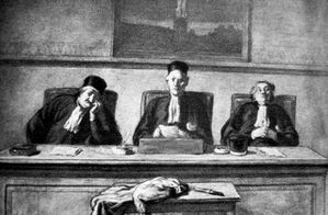 DAUMIER PIECES A CONVICTION