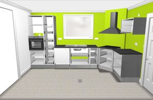 plan de cuisine le blog de. Black Bedroom Furniture Sets. Home Design Ideas
