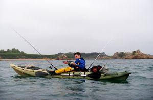 Kayak pour chasse sous marine