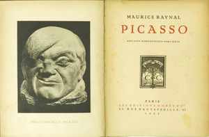 Monographie Picasso 1921 Maurice Raynal