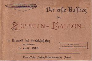 zeppelin premier vol