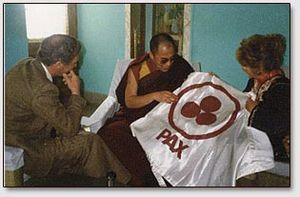 Dalai Lama and A Rodriquez