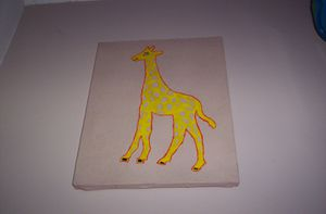Home dco girafe