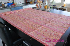 table idéale pour couper le tissu !