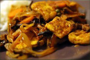Tofu à l'aigre douce vegecarib 993