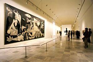 Guernica Musee Reina Sofia - Madrid © AFP Photononstop