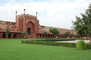 Inde Jardins de Taj Mahal