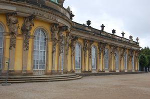 Postdam chateau palais de Sanssouci