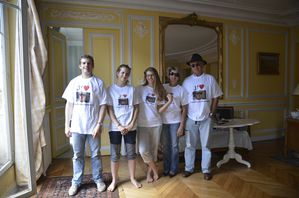 famille gay t shirt