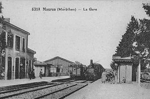 Gare Mauron 1900b