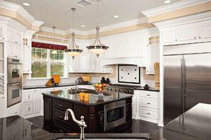 un lot central dans ma cuisine lf ambiances et d co. Black Bedroom Furniture Sets. Home Design Ideas