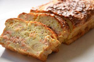 cake saumon, pavot et citrons confits (7)