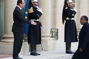 hollande sassou