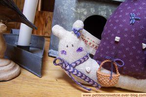 Escargots Tilda violets(3)