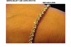 Bracelet de diamants