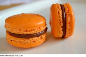 macaron au fruits de la passion avec ganache fruit-copie-4