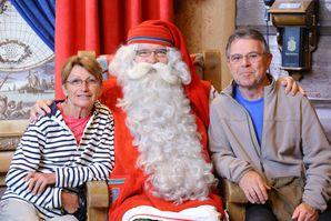 2013 07 11 f visite au Père Noël dans sa maison de Laponie