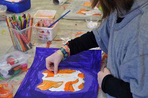 Animaux peinture picasso Atelier de Flo 7
