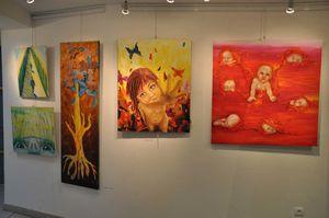 Exposition-peinture-photo-Launois sur Vence-FloM 7