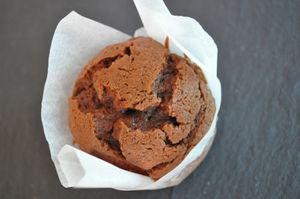 muffin double choc