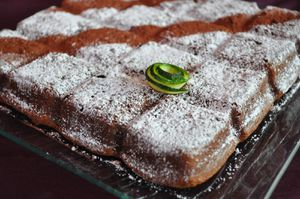 moelleux chocoloat courgette