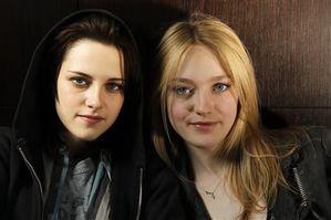 Dakota Fanning & Kristen Stewart - Sundance Portrait 1