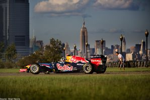 Red Bull - David Coulthard, New Jersey