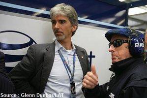 Williams - Damon Hill, Jackie Stewart