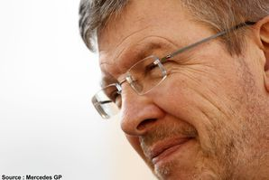 Mercedes GP - Ross Brawn