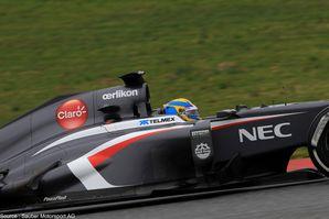 Sauber - Sergio Perez, PaucoPlast