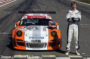 Williams - Nico Hulkenerg Porsche 911 GT3 R Hybrid