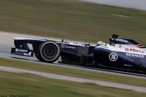 Williams - Pastor Maldonado 2013