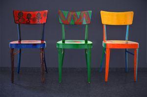 Customiser ses chaises bde le blog deco des etudiants - Customiser des chaises ...