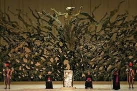 sculpture salle Paul VI