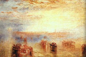 Approach to Venice 1843