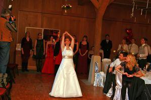 Brautstrausswurf