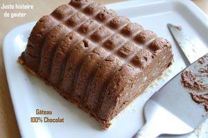 gâteau 100%choco ptt beurre
