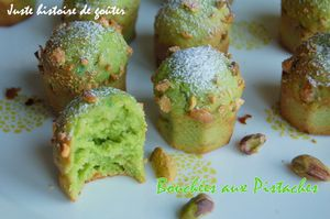bouchées aux pistaches