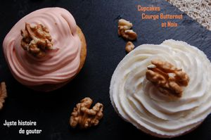 cupcakes butter noix