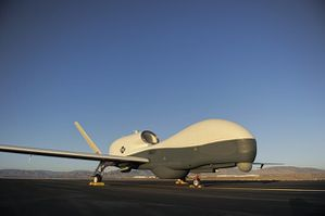 MQ-4C BAMS Unmanned Aircraft